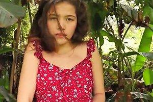 Irene In Red Dress